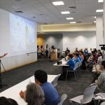 Gov. David Ige welcomes participants to the Hawaii Annual Code Challenge Judging & Awards Ceremony.