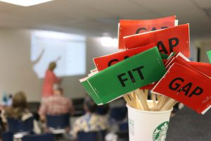 Fit-Gap session photo